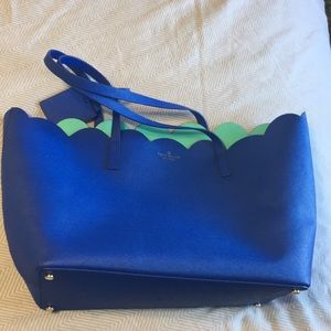 New Kate Spade Lily Purse in Cobalt Blue